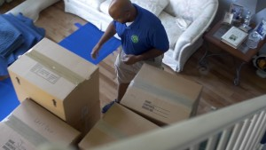 packing and unpacking services at The Green Truck Moving & Storage Company