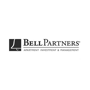 Bell Partners apartment investment and management logo partners of The Green Truck Moving & Storage Company