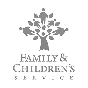Family & Children's service logo partner of The Green Truck Moving & Storage Company