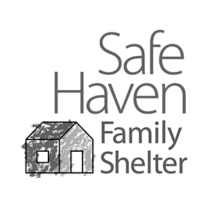 Safe Haven family shelter logo partner of The Green Truck Moving & Storage Company