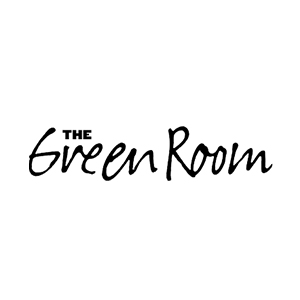 The green room logo partner of The Green Truck Moving & Storage Company