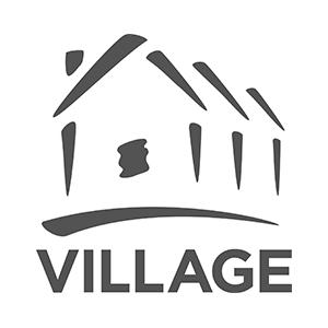 Village realtors logo partner of The Green Truck Moving & Storage Company