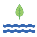 Tree water icon The Green Truck Moving & Storage Company