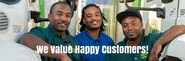 The green truck moving and storage company we value happy customers